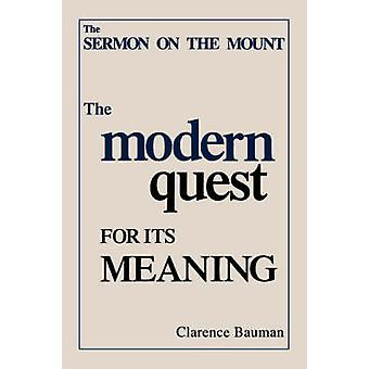 SERMON ON THE MOUNT by BAUMAN & Clarence