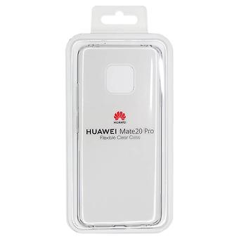 Official Huawei Mate 20 Pro Flexible Clear Case | iParts4u