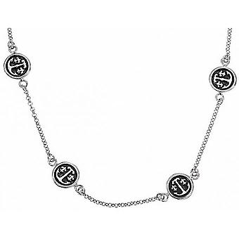 Necklace and pendant Ted lapidus D46159N - necklace and pendant round black Dor