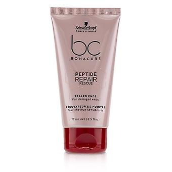 Schwarzkopf BC Bonacure Peptide Repair Rescue Sealed Ends (For Damaged Ends) 75ml/2.5oz