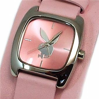 Playboy Pink Cuff Strap Ladies Designer Fashion Watch PB0128PK
