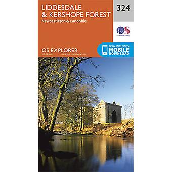 Liddesdale and Kershope Forest by Ordnance Survey - 9780319263297 Book