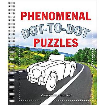 Phenomenal Dot-To-Dot Puzzles by Conceptis Puzzles - 9781454911982 Bo