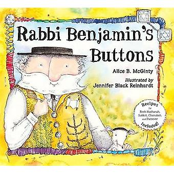 Rabbi Benjamin's Buttons by Alice B. McGinty - Jennifer Black Reinhar