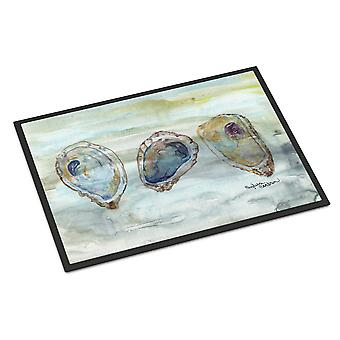 Carolines Treasures  SC2001JMAT Oysters Watercolor Indoor or Outdoor Mat 24x36