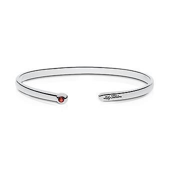 Louisiana Tech University Lady Techsters Engraved Ruby Cuff Bracelet