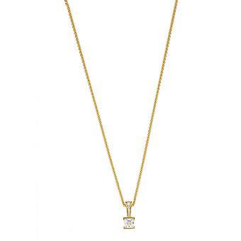 Esprit Solitaire gouden Damenkette (ESNL92194B420)