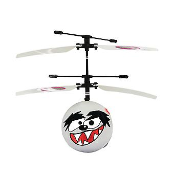 Jamara R/C Helicopter Lupo With Lights White Dual Rotor