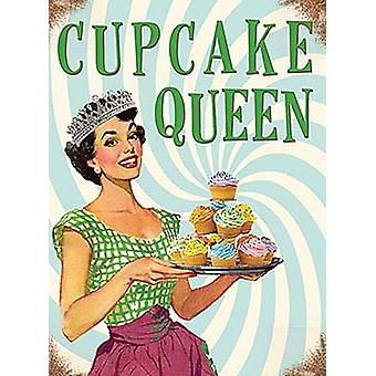 Cupcake Queen small metal sign   (og 2015)
