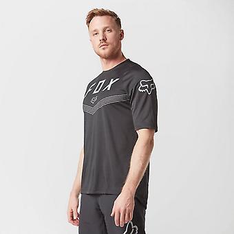 New Fox Men's Defend Fine Line Short Sleeve Jersey Black