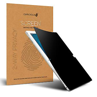 Celicious Privacy 2-Way Anti-Spy Filter Screen Protector Film Compatible with Apple iPad Pro 12.9
