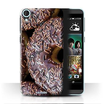 STUFF4 Case/Cover for HTC Desire 820q Dual/Chocolate/Tasty Donuts