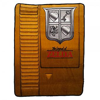 Blanket - Nintendo - Zelda Gold Cartridge Throw New Licensed bz3k0hntn