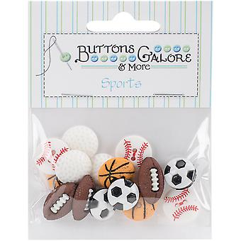 Button Theme Pack-Lets Play Ball BTP-4070