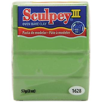 Sculpey Iii Polymer Clay 2 Ounces String Bean S302 1628