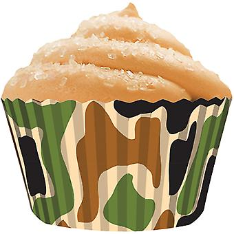 Standard Baking Cups 32 Pkg Camo Bkcup 8846