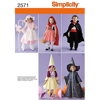 Simplicity Crafts Costumes 1 2 1 2 3 4 U02571a