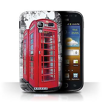 STUFF4 Case/Cover für Samsung Galaxy Ace 2/I8160/Red Phone Box/London England