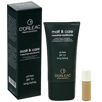 D'Orleac Matt & Care Makeup No. 01 (Woman , Makeup , Face , Foundation)