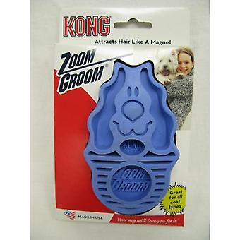 Kong Zoom Groom Hund Boysonberry