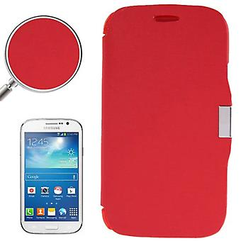Cell phone cover case for Samsung Galaxy Grand duos GT-I9082 red brushed