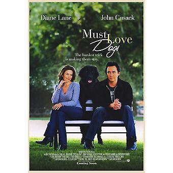 Must Love Dogs Film Poster drucken (27 x 40)