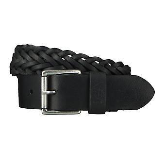 Lee belts men's belts leather belt woven belt black 4638