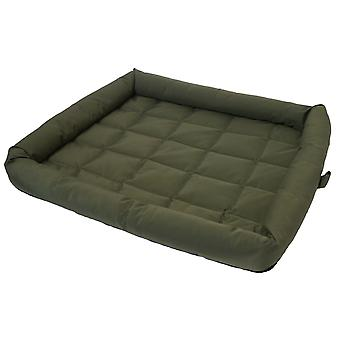 40 Winks Water Resistant Crate Mattress Country Green 50cm (22