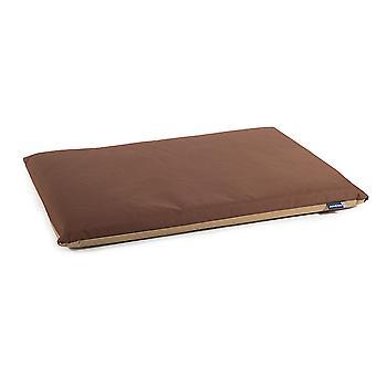 Sömnig tassar vattentät Pad brun/beige 92 X61cm