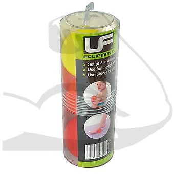 UFE Trigger Point Massage Balls 3 Pack