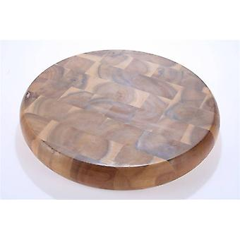 26cm Acacia Wood Grain Board