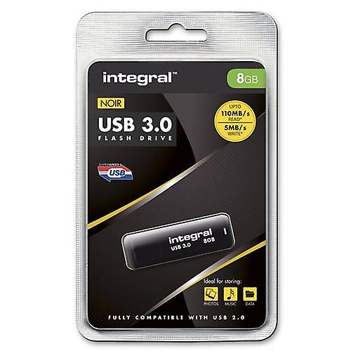 Fast - SuperSpeed 8GB USB 3.0 Flash Drive from Integral - Up To 80MB/s.