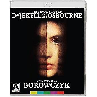 Mærkelige sag af Dr Jekyll & Miss Osbourne [BLU-RAY] USA importerer