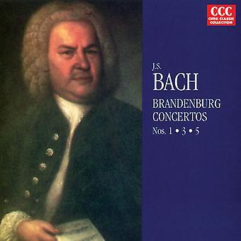 J.S. Bach - Bach: Brandenburg Concertos Nos. 1-3 [CD] USA import