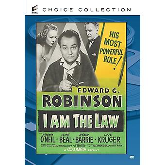 I Am the Law [DVD] USA import