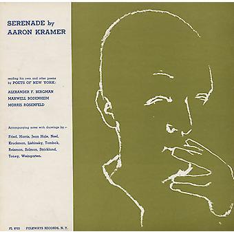 Aaron Kramer - Serenade av Aaron Kramer: lese hans egen & andre [DVD] USA import