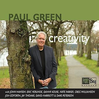 Paul Green - kreativitet [CD] USA import