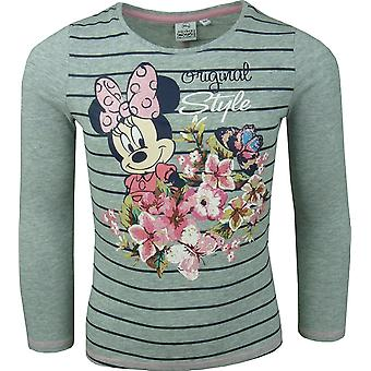 Girls Disney Minnie Mouse Long Sleeve Top HO1184