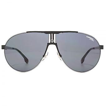Carrera 1006 Aviator Sunglasses In Ruthenium Matte Black