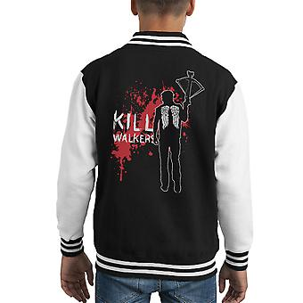 Varsity Jacket l'ambulante morto Daryl Crossbow capretto