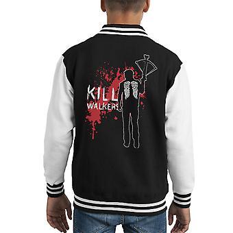 Die zu Fuß tot Daryl Crossbow Kid Varsity Jacket