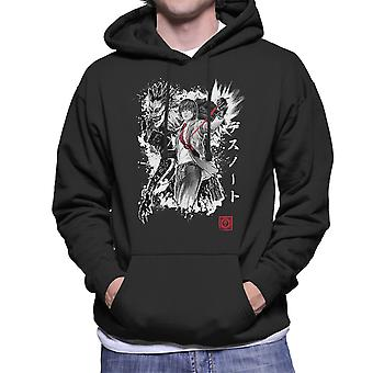 Death Note God Of The New World Men's Hooded Sweatshirt