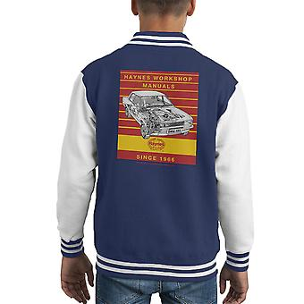 Haynes Workshop Manual 0409 Ford Cortina 1300 Stripe Kid's Varsity Jacket