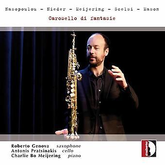 Murer / Meijering / Nasopoulou / Pratsinakis - Carosello Di Fantasie [CD] USA import