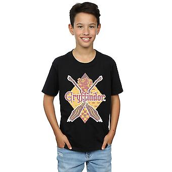 Harry Potter Boys Gryffindor Lozenge T-Shirt
