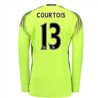 2016 / 17 Chelsea Home Torwarttrikot (Courtois 13)