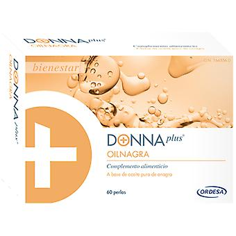 Donna Plus Donna Evening Primrose Oil Plus + 60 Pearls (Diät)