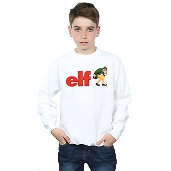Elf Boys Crouching Logo Sweatshirt