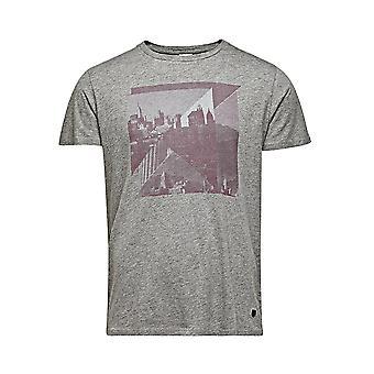 Jack and Jones Premium Alec Tee Crew Neck Grey T-Shirt