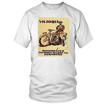 Victoria Nurnberg Classic Motorcycle Motorbike Biker Kids T Shirt